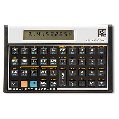 The HP-15c LE Scientific Calculator